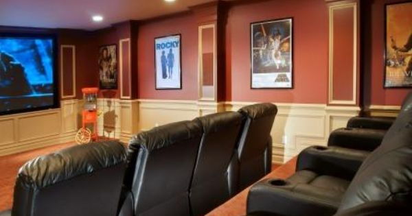 Theatre Room New House Pinterest Woods Theatres And Brand New