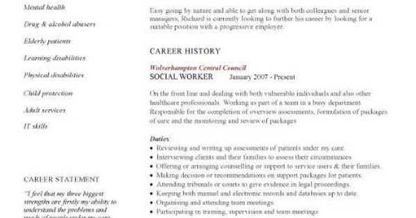 social worker resume template this cv template gives you an idea of