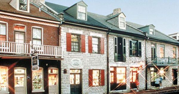 Historic St Charles Missouri Rhineland St Charles Missouri German Village