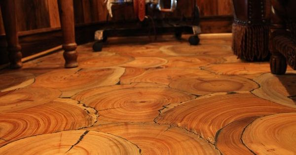 Wood Floor Of The Year 2014 No Planks Tree Slices