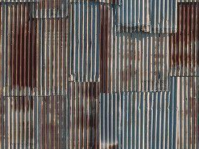 Textures Texture Seamless Iron Corrugated Dirt Rusty Metal Texture Seamless 09988 Textures Materials Metals Metal Texture Rusty Metal Corrugated Metal