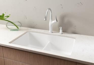 Blanco Diamond Equal Double Bowl With Low Divide Granite