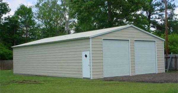 28 X 46 X 10 Vertical Roof Eco Friendly Steel Carport Garage Installation Included Metal Buildings Metal Shop Building Prefab Metal Buildings
