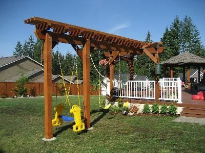 How To Build A Swing Set Building Swing Sets Swingset DIY