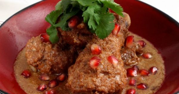 ... with walnut and pomegranate sauce | Persian, Pomegranates and Sauces