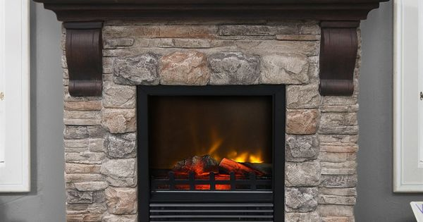 Paramount Ef 202m Kit Kampen Faux Stone Electric Fireplace Lowe 39 S Canada Fireplace