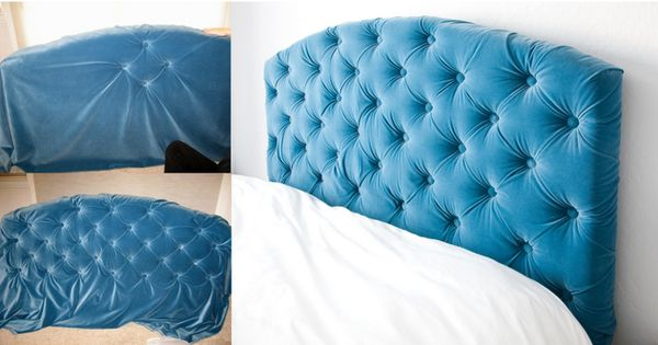tufted headboard tutorial... Guest room to do list.