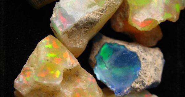 // raw opals