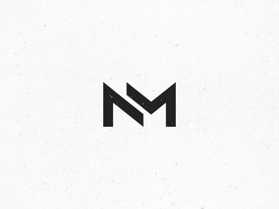 Nm Monogram 3 Identity Design Logo Personal Branding Logo N Logo Design