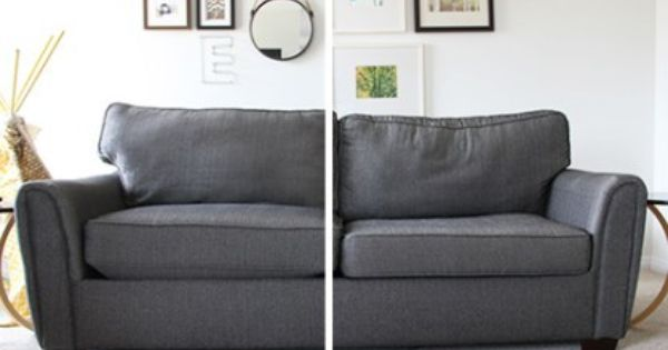How To Stuff Your Sofa Cushions And Give Them New Life