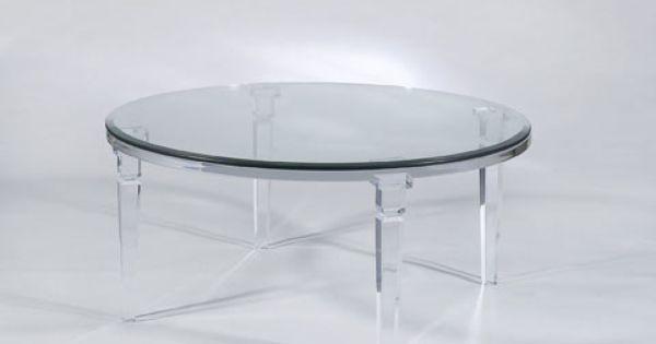 Chateau Coffee Table Shahrooz Art Coffee Table Acrylic Furniture Lucite Furniture