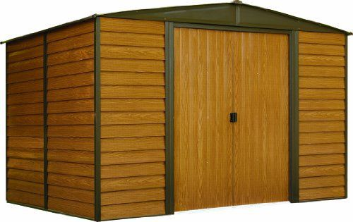 Woodridge 10 Ft X 8 Ft Steel Storage Shed 10 X 8 Ft 3 0 X 2 3 M 10x8shedplans Metal Storage Sheds Steel Storage Sheds Metal Storage Buildings