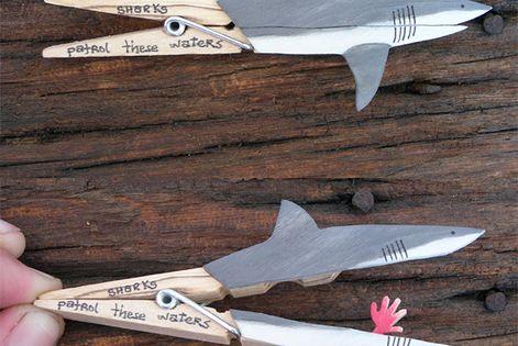 sharks patrol these waters Shark Week fun