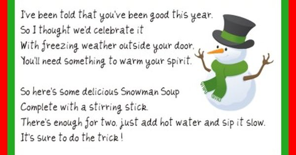 Homemade, How to make snowman and Snowman soup on Pinterest