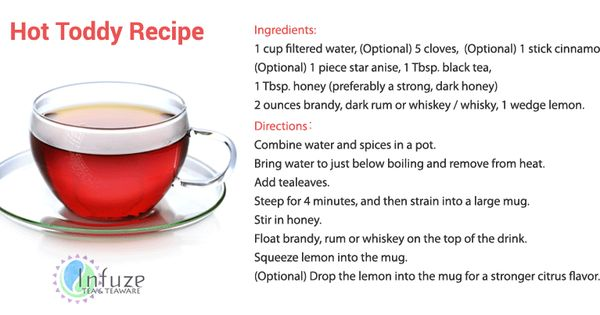 Hot toddy and Recipe on Pinterest