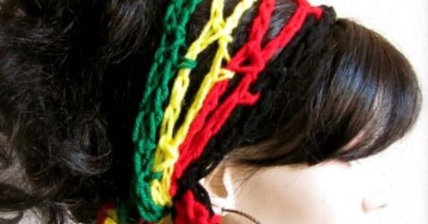 Crochet Gypsy Style Hair Band Pattern : Hand Crochet Gypsy Style Hair Band and Scarf Crochet and Craft ...