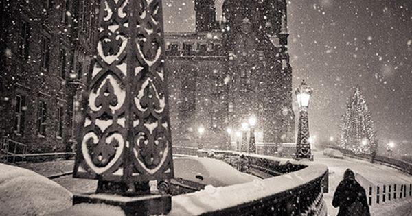 Edinburgh, Scotland - oh my, winter wonderland!