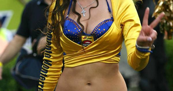 liga-mx-clausura-2013-cheerleaders-mfpclplnfa | MX - UANL Tigres | Pinterest | Shorts and Girls