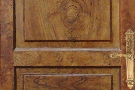 Art et techniques de la dorure versailles faux bois for Faux bois painting technique