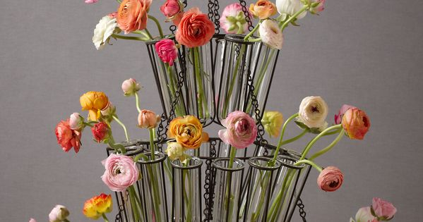 Cascade Flower Chandelier