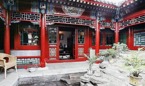 Traditional Chinese Courtyard House Traditional Chinese House Chinese Courtyard Chinese Buildings