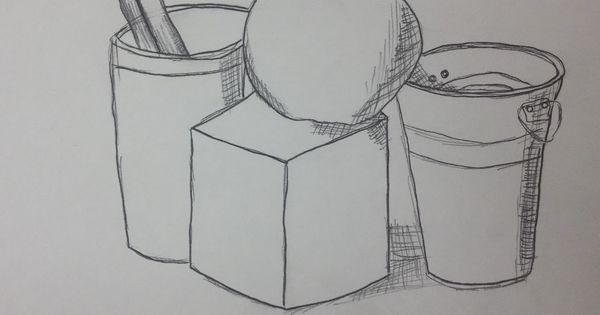 Contour Line Drawing Lesson Middle School : Th grade art contour line still life drawings could be