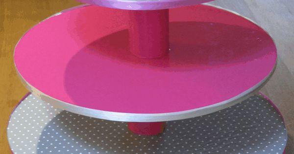 ... Alzatina per cupcakes DIY  idee creative  Pinterest  Cupcake, DIY
