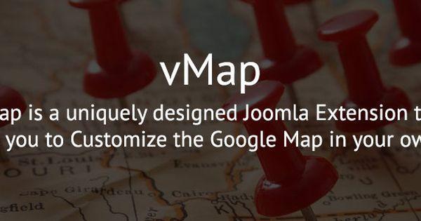 vmap httpswwwwdmtechcomvmap joomla google googlemaps api html5 maps markers business location direction joomla product pinterest