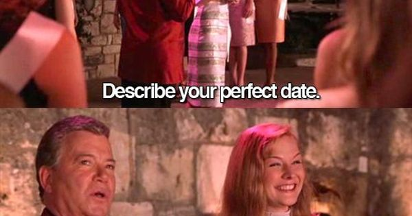 Describe Your Perfect Date...