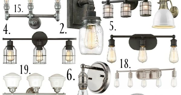 Farmhouse Style Bathroom Light Fixtures Farmhouse Style Bathrooms Bathroom