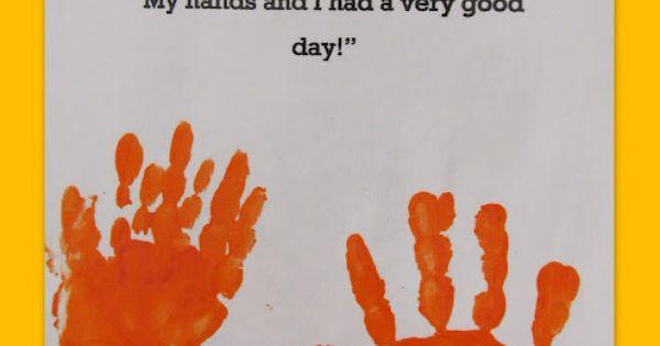 Handprint poem for preschool or kindergarten graduation keepsake. I'm so the mom