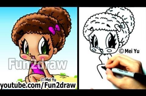 How to Draw Cartoon People - Gymnast Girl | Fun to draw ...