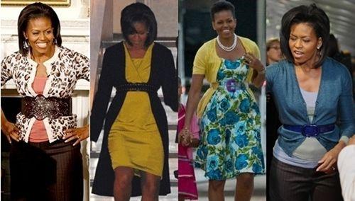 Michelle Obama Belt Over Cardigan Michelle Obama Fashion Fashion Creative Fashion