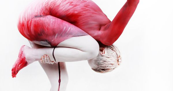 """Human Flamingo"" 