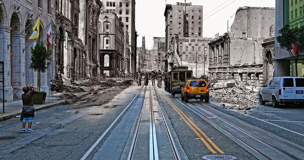 Fundiendo pasado y presente con la fotografía. SanFrancisco ShawnClover