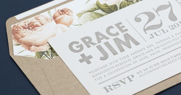Floral Invitations as amazing invitations design