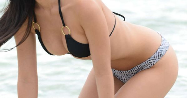 lisa opie bikini photos  2014 photoshoot on miami beach 07