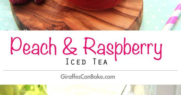 how to make peach iced tea with syrup