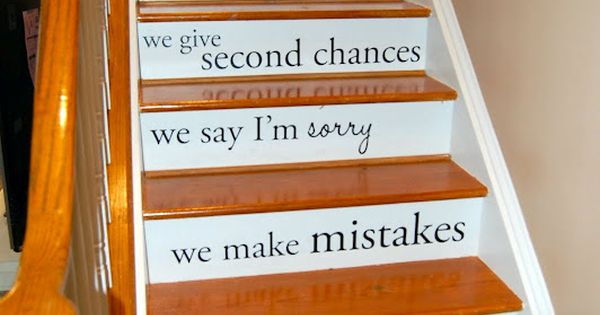 cute idea, maybe for basement stairs