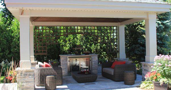 am nagement paysager kiosque de jardin ou gazebo kiosque de jardin pinterest kiosque. Black Bedroom Furniture Sets. Home Design Ideas