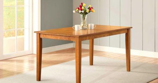 better homes and gardens bankston dining table honey 1