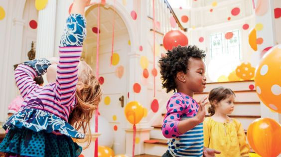 15 kids party ideas. polka dot party