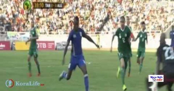 ملخص مباراة الجزائر وتنزانيا 2 2 حفيظ دراجي Hd Youtube Soccer Field Enjoyment
