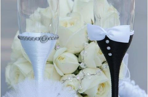 Wedding stuff's decoration