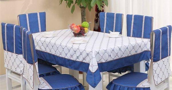 Cubre sillas y mantel de comedor cobertores de sillas for Sillas comedor originales