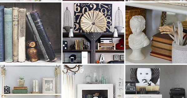 Creative Bookshelf Styling Styling And Decorating