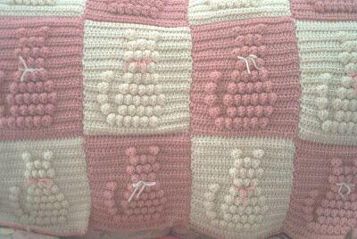Crochet Cat Blanket Patterns You'll Love | Crochet cat pattern ... | 268x400
