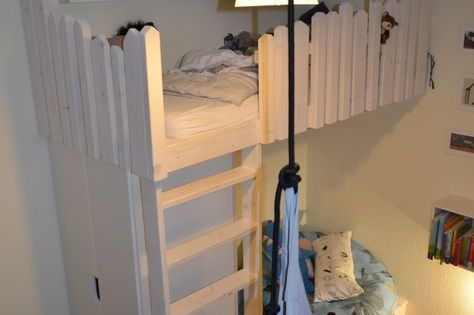tutorial hochbett selber bauen kinderzimmer pinterest hochbett selber. Black Bedroom Furniture Sets. Home Design Ideas