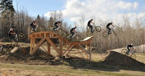 Mtb Kicker Ramp From Pallets Skateboard Rails Bike Craft Bmx Ramps