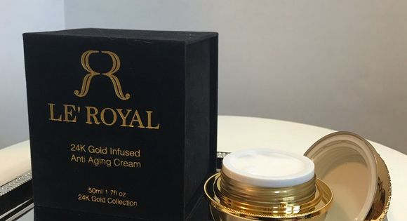 Luxury 24k Gold Infused Anti Aging Skin Cream Le Royal Luxury Skin Cream Infused With 24k Gold Great Anti Aging Skin Products Skin Cream Skin Cream Anti Aging
